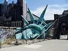 statue of liberty destroyed